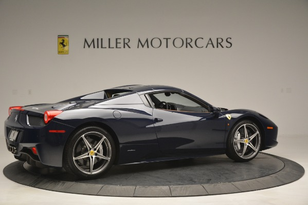 Used 2014 Ferrari 458 Spider for sale Sold at Bugatti of Greenwich in Greenwich CT 06830 20