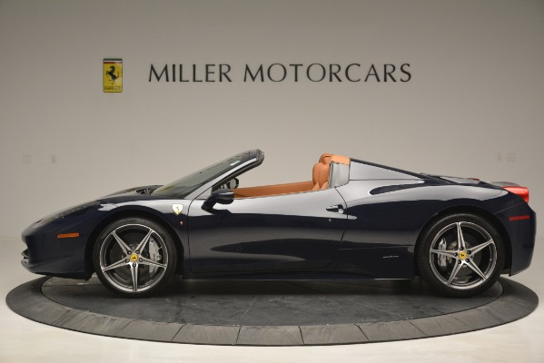 Used 2014 Ferrari 458 Spider for sale Sold at Bugatti of Greenwich in Greenwich CT 06830 3