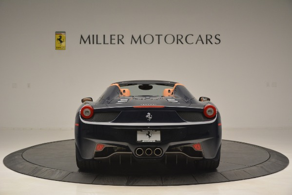 Used 2014 Ferrari 458 Spider for sale Sold at Bugatti of Greenwich in Greenwich CT 06830 6