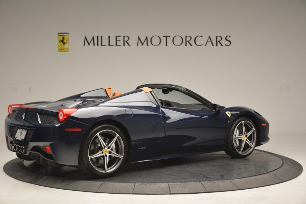 Used 2014 Ferrari 458 Spider for sale Sold at Bugatti of Greenwich in Greenwich CT 06830 8
