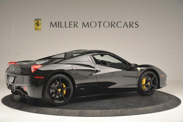 Used 2013 Ferrari 458 Spider for sale Sold at Bugatti of Greenwich in Greenwich CT 06830 20