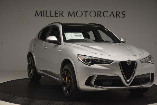 New 2019 Alfa Romeo Stelvio Quadrifoglio for sale $86,440 at Bugatti of Greenwich in Greenwich CT 06830 11