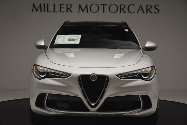 New 2019 Alfa Romeo Stelvio Quadrifoglio for sale $86,440 at Bugatti of Greenwich in Greenwich CT 06830 12