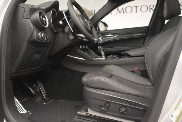 New 2019 Alfa Romeo Stelvio Quadrifoglio for sale $86,440 at Bugatti of Greenwich in Greenwich CT 06830 14
