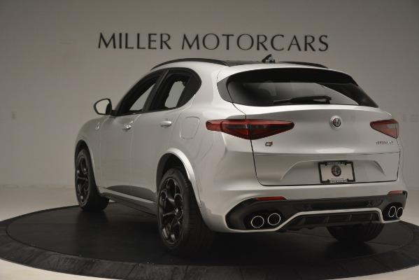 New 2019 Alfa Romeo Stelvio Quadrifoglio for sale $86,440 at Bugatti of Greenwich in Greenwich CT 06830 5