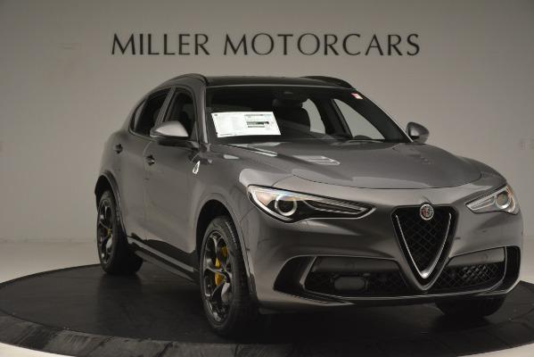 New 2019 Alfa Romeo Stelvio Quadrifoglio for sale Sold at Bugatti of Greenwich in Greenwich CT 06830 11