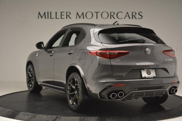 New 2019 Alfa Romeo Stelvio Quadrifoglio for sale Sold at Bugatti of Greenwich in Greenwich CT 06830 5