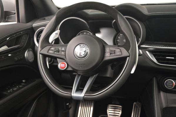 New 2019 Alfa Romeo Stelvio Quadrifoglio for sale Sold at Bugatti of Greenwich in Greenwich CT 06830 16
