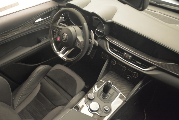 New 2019 Alfa Romeo Stelvio Quadrifoglio for sale Sold at Bugatti of Greenwich in Greenwich CT 06830 18