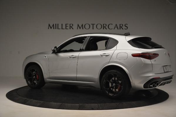 New 2019 Alfa Romeo Stelvio Quadrifoglio for sale Sold at Bugatti of Greenwich in Greenwich CT 06830 4