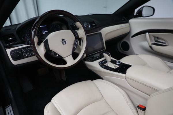 New 2019 Maserati GranTurismo Sport Convertible for sale Sold at Bugatti of Greenwich in Greenwich CT 06830 19