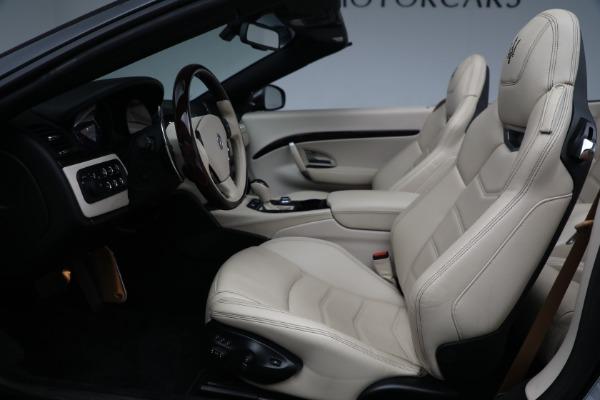 New 2019 Maserati GranTurismo Sport Convertible for sale Sold at Bugatti of Greenwich in Greenwich CT 06830 20