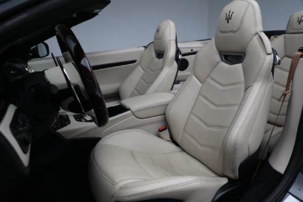 New 2019 Maserati GranTurismo Sport Convertible for sale Sold at Bugatti of Greenwich in Greenwich CT 06830 21