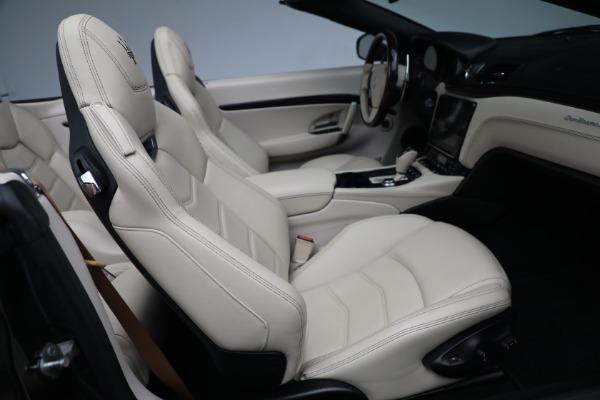New 2019 Maserati GranTurismo Sport Convertible for sale Sold at Bugatti of Greenwich in Greenwich CT 06830 24