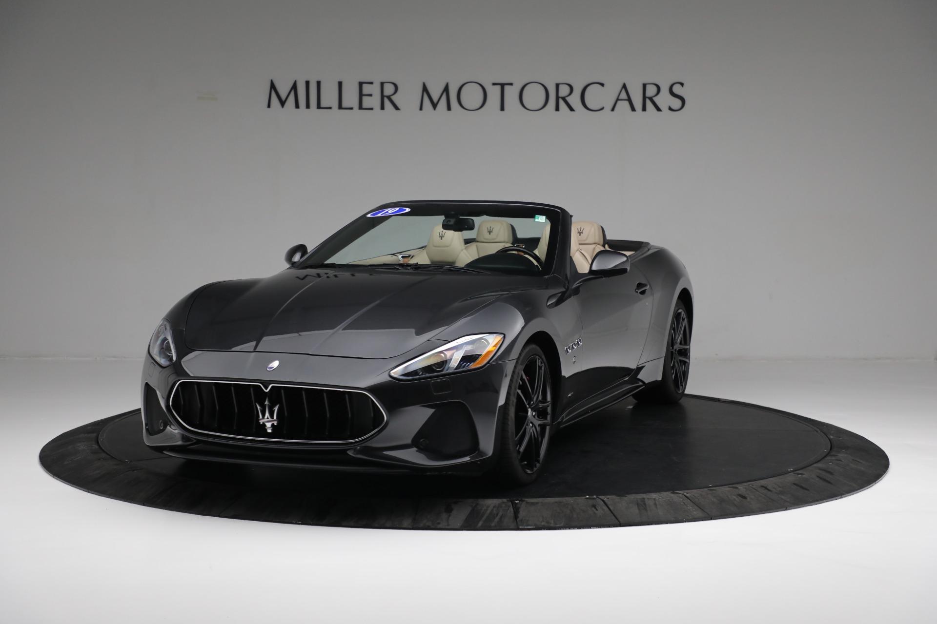 New 2019 Maserati GranTurismo Sport Convertible for sale Sold at Bugatti of Greenwich in Greenwich CT 06830 1