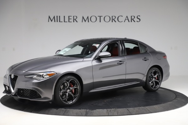 New 2019 Alfa Romeo Giulia Ti Sport Q4 for sale Sold at Bugatti of Greenwich in Greenwich CT 06830 2