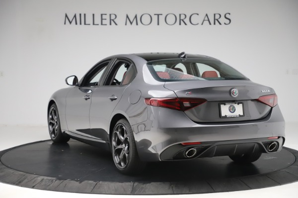 New 2019 Alfa Romeo Giulia Ti Sport Q4 for sale Sold at Bugatti of Greenwich in Greenwich CT 06830 5