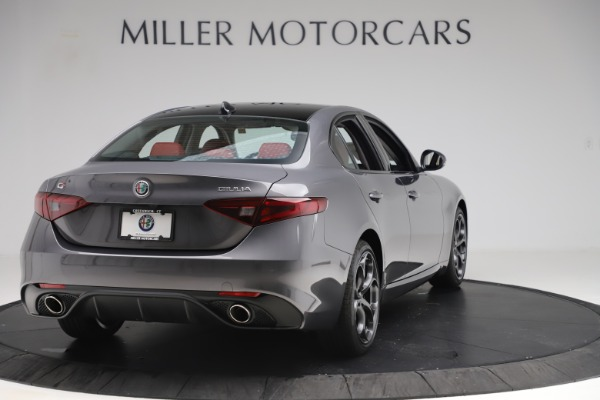 New 2019 Alfa Romeo Giulia Ti Sport Q4 for sale Sold at Bugatti of Greenwich in Greenwich CT 06830 7