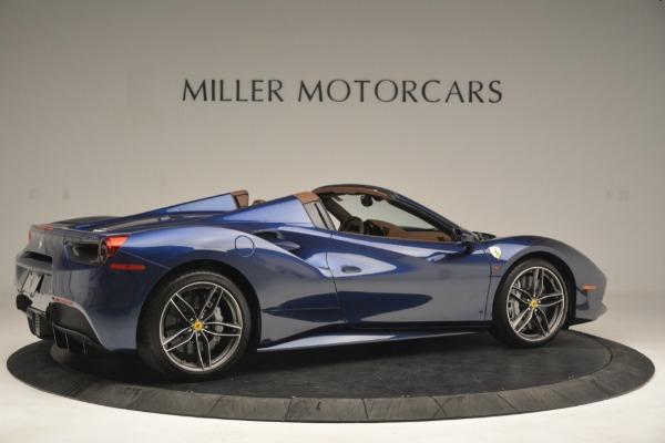 Used 2018 Ferrari 488 Spider for sale Sold at Bugatti of Greenwich in Greenwich CT 06830 8