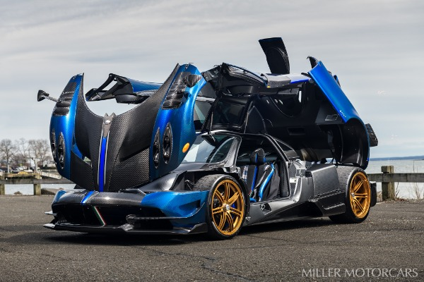 Used 2017 Pagani Huayra BC Macchina Volante for sale Call for price at Bugatti of Greenwich in Greenwich CT 06830 12
