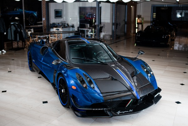 Used 2017 Pagani Huayra BC Macchina Volante for sale Call for price at Bugatti of Greenwich in Greenwich CT 06830 5