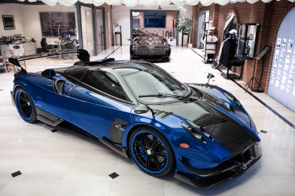 Used 2017 Pagani Huayra BC Macchina Volante for sale Call for price at Bugatti of Greenwich in Greenwich CT 06830 1