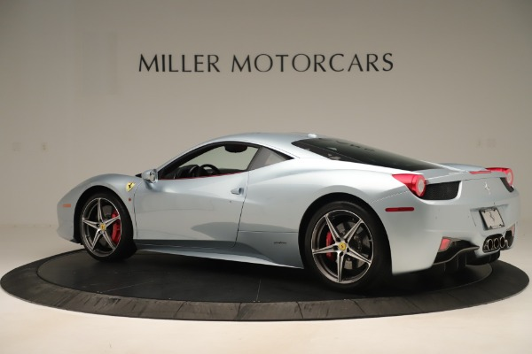 Used 2015 Ferrari 458 Italia for sale Sold at Bugatti of Greenwich in Greenwich CT 06830 4