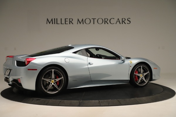 Used 2015 Ferrari 458 Italia for sale Sold at Bugatti of Greenwich in Greenwich CT 06830 8
