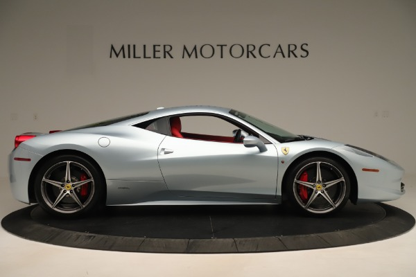 Used 2015 Ferrari 458 Italia for sale Sold at Bugatti of Greenwich in Greenwich CT 06830 9