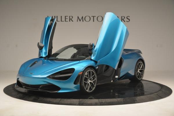 New 2019 McLaren 720S Spider for sale $399,030 at Bugatti of Greenwich in Greenwich CT 06830 13