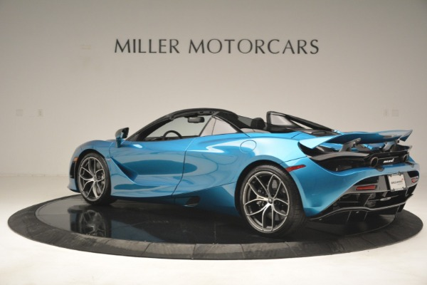 New 2019 McLaren 720S Spider for sale $399,030 at Bugatti of Greenwich in Greenwich CT 06830 4
