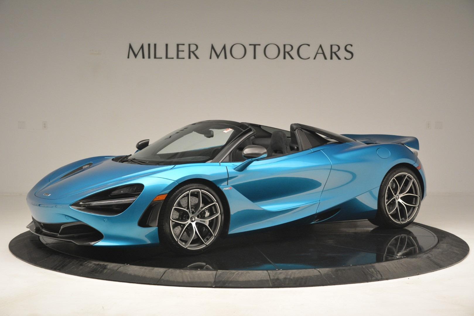 New 2019 McLaren 720S Spider for sale $399,030 at Bugatti of Greenwich in Greenwich CT 06830 1