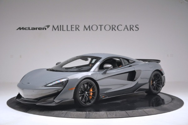 New 2019 McLaren 600LT Coupe for sale Sold at Bugatti of Greenwich in Greenwich CT 06830 1