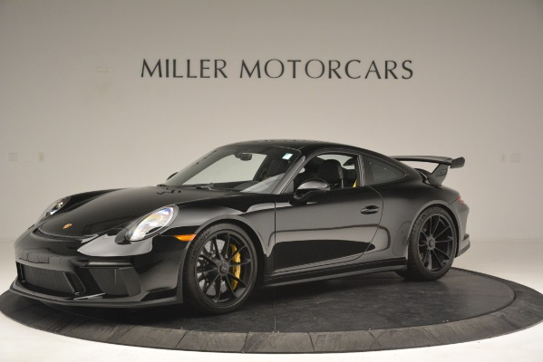 Used 2018 Porsche 911 GT3 for sale Sold at Bugatti of Greenwich in Greenwich CT 06830 1