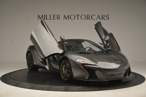 Used 2016 McLaren 650S Spider Convertible for sale Sold at Bugatti of Greenwich in Greenwich CT 06830 12