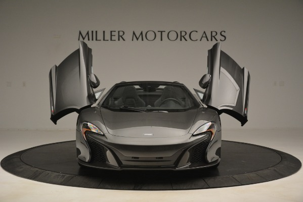 Used 2016 McLaren 650S Spider Convertible for sale Sold at Bugatti of Greenwich in Greenwich CT 06830 13