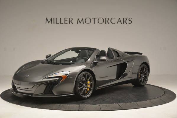 Used 2016 McLaren 650S Spider Convertible for sale Sold at Bugatti of Greenwich in Greenwich CT 06830 2