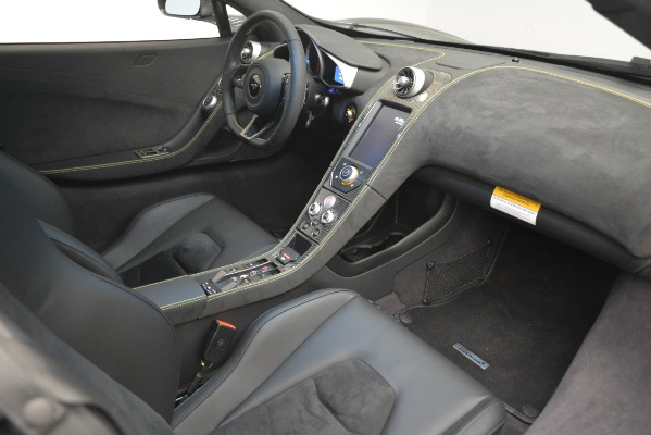 Used 2016 McLaren 650S Spider Convertible for sale Sold at Bugatti of Greenwich in Greenwich CT 06830 25