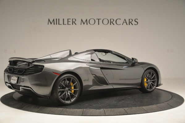 Used 2016 McLaren 650S Spider Convertible for sale Sold at Bugatti of Greenwich in Greenwich CT 06830 8