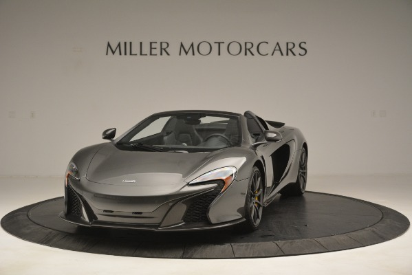Used 2016 McLaren 650S Spider Convertible for sale Sold at Bugatti of Greenwich in Greenwich CT 06830 1