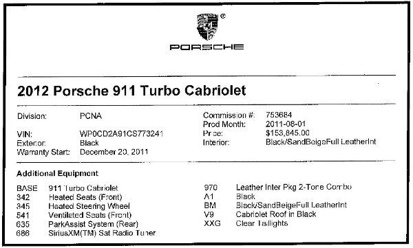 Used 2012 Porsche 911 Turbo for sale Sold at Bugatti of Greenwich in Greenwich CT 06830 28