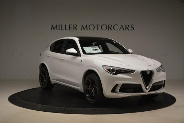 New 2019 Alfa Romeo Stelvio Quadrifoglio for sale Sold at Bugatti of Greenwich in Greenwich CT 06830 12