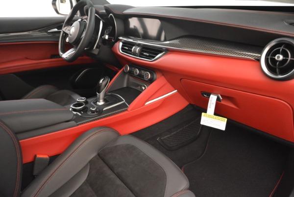 New 2019 Alfa Romeo Stelvio Quadrifoglio for sale Sold at Bugatti of Greenwich in Greenwich CT 06830 20