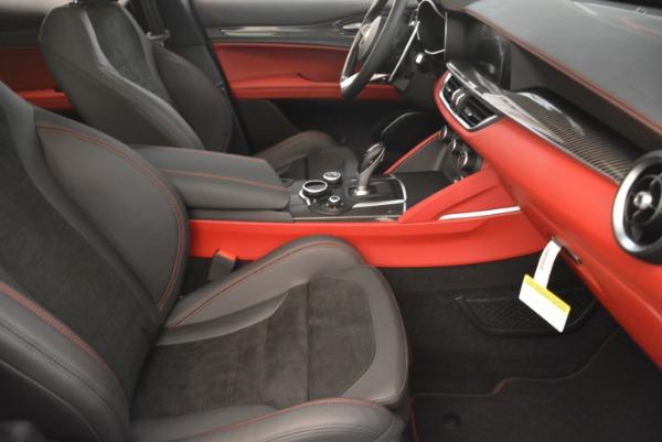New 2019 Alfa Romeo Stelvio Quadrifoglio for sale Sold at Bugatti of Greenwich in Greenwich CT 06830 21