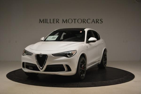 New 2019 Alfa Romeo Stelvio Quadrifoglio for sale Sold at Bugatti of Greenwich in Greenwich CT 06830 1