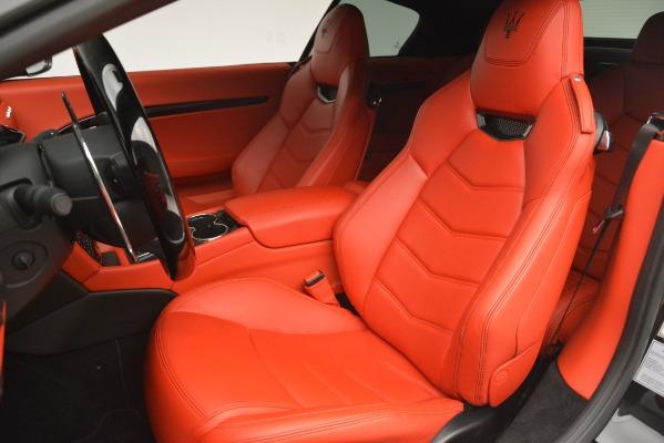 Used 2014 Maserati GranTurismo Sport for sale Sold at Bugatti of Greenwich in Greenwich CT 06830 21