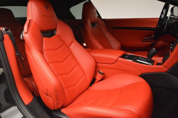 Used 2014 Maserati GranTurismo Sport for sale Sold at Bugatti of Greenwich in Greenwich CT 06830 24