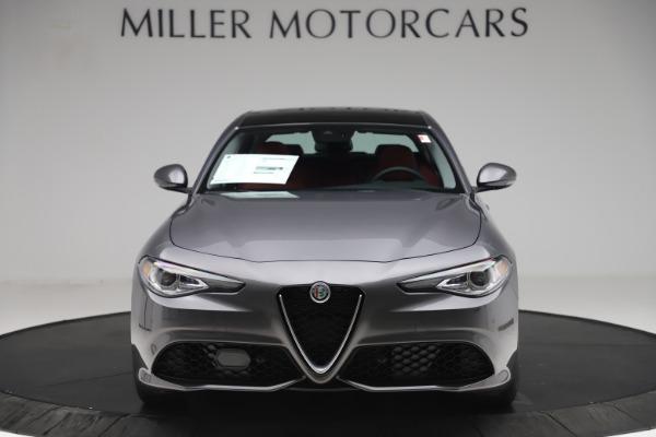 New 2019 Alfa Romeo Giulia Ti Sport Q4 for sale Sold at Bugatti of Greenwich in Greenwich CT 06830 12