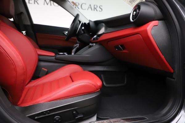 New 2019 Alfa Romeo Giulia Ti Sport Q4 for sale Sold at Bugatti of Greenwich in Greenwich CT 06830 23