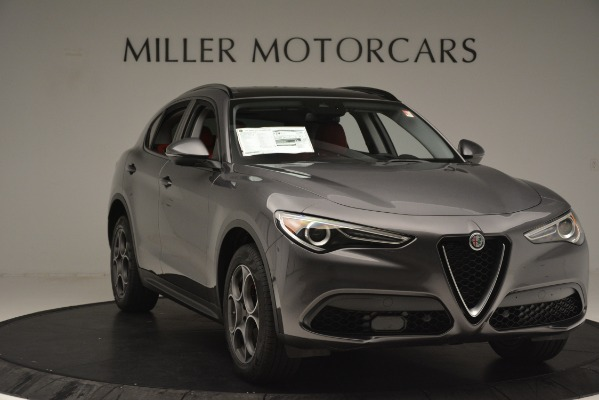 New 2019 Alfa Romeo Stelvio Sport Q4 for sale Sold at Bugatti of Greenwich in Greenwich CT 06830 11
